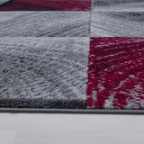 Modern vloerkleed Galant 8003 kleur Rood_
