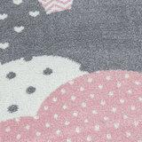 Kindervloerkleed Sunny Pink 820_