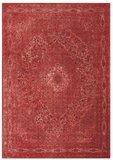 Oriental vloerkleed Tabriz  Rood_