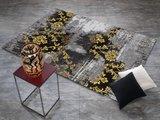 Design vloerkleed Malaine 626 Grijs - Geel_