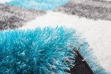 Vloerkleed turquoise Diadeem _