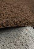 Bruin hoogpolig tapijt Calys 170 _