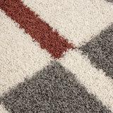 Hoogpolig vloerkleed Galaxy 2505 kleur Terra_