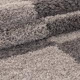 Hoogpolig vloerkleed Galaxy 2505 kleur Taupe_