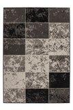 Modern vloerkleed Rols kleur grijs_