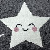 Kinderkamer tapijt Child 610/AY Grijs_