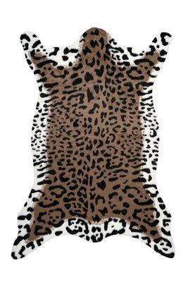 Vloerkleed Animal Imitatie Bruin Wit 325