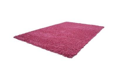 Roze hoogpolig vloerkleed Nord Pink