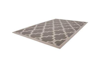 Modern grijs vloerkleed Manoa Grijs