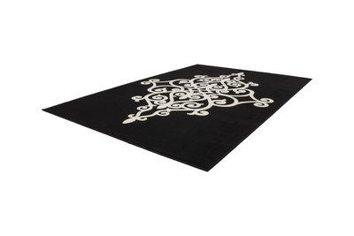 Zwart karpet Manoa