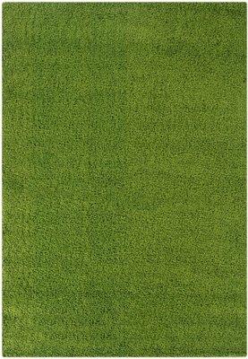 Hoogpolig vloerkleed groen Calys 170