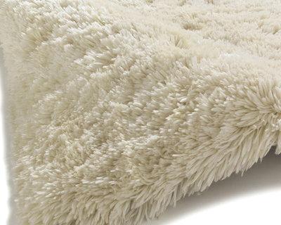 Prachtig hoogpolig vloerkleed Poolstar creme PL95