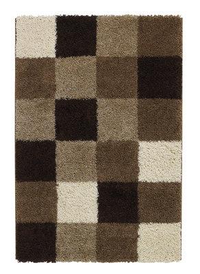 Hoogpool vloerkleed Maestro kleur bruin 4247A