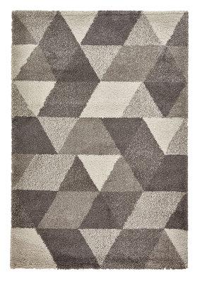 Hoogpool vloerkleed Norman kleur grijs 7611