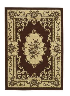 Oriental vloerkleed kleur bruin