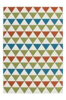 Multicolor vloerkleed Action