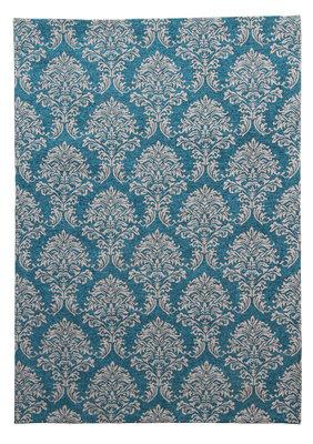 Vintage vloerkleed Sitan 900 kleur Turquoise