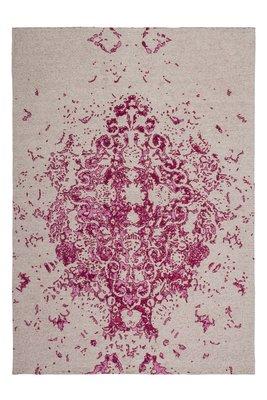 Vintage vloerkleed Sitra Pink / Ecru