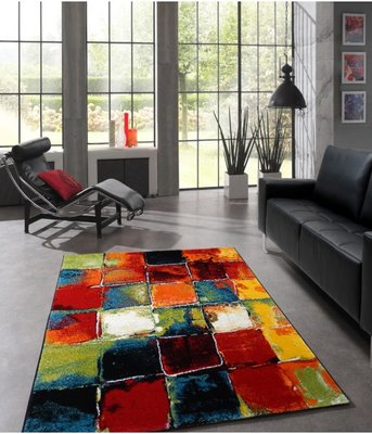 Modern vloerkleed Barney 20739 kleur multi 110