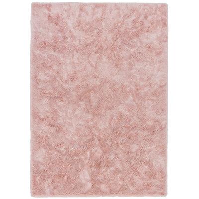 Hoogpolige vloerkleden Queen 015 Roze