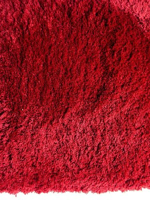 Hoogpolig tapijt Living 010 kleur Rood