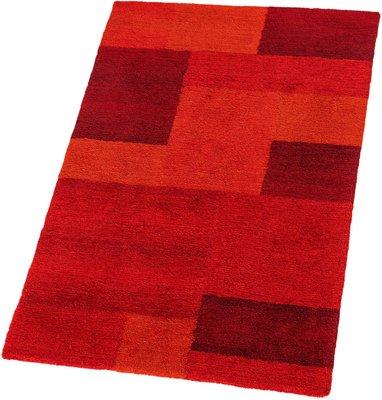 Hoogpolig tapijt Living 151/010 kleur Rood