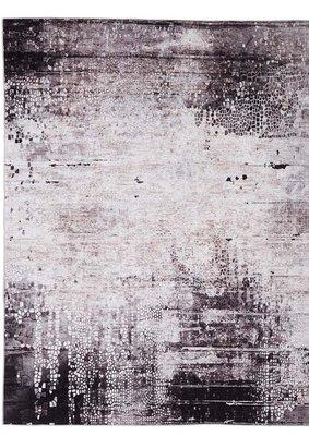 Vloerkleed Oxford kleur grijs