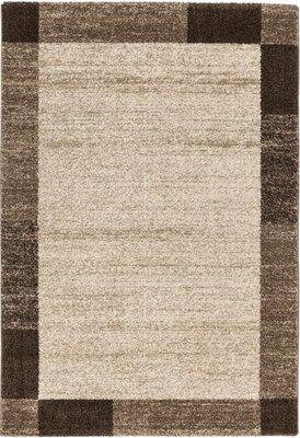 Modern vloerkleed Soraja kleur bruin 152/060