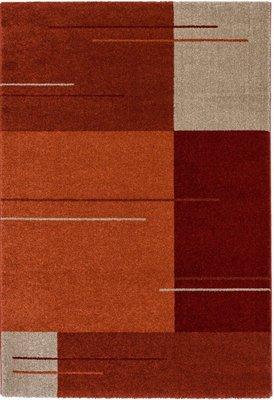 Modern vloerkleed Soraja kleur rood 002/010
