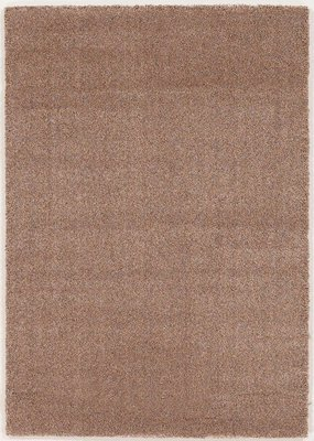 Effen vloerkleed London 882 Taupe