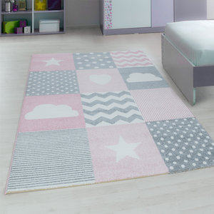 Kinderkamer tapijt Child 620/AY Pink